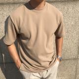 데일리 박스 반팔 티셔츠 (4color)