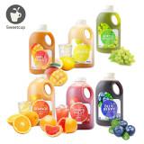 스위트컵 농축액 6종 2kg / 자몽/레몬/오렌지/청포도/블루베리/애플망고