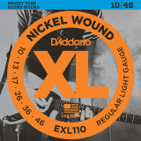 다다리오 일렉기타 스트링 EXL110 / Daddario EXL110 Nickel Wound, Regular Light, 10-46