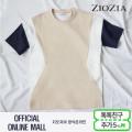 (지오지아/ZIOZIA) 스판소재 절개블록 포인트 루즈핏 티셔츠(ABX2TR1113/베이지)