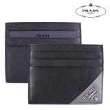 [국내당일발송/패션툴즈] 프라다 사피아노 카드지갑 블랙 PRADA 2MC223 QME F0R8F