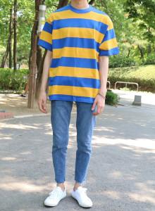 허니드 단가라 티셔츠