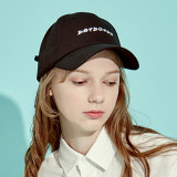 디바이디그낙 Back Lace-Up Logo Cap BK