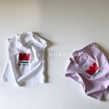 유아 반팔티 북유럽풍 아기옷
