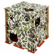 위장무늬 고양이 놀이집 // 카모무늬 고양이 비밀기지 // 모든 집사는 집중!