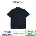 (지오지아/ZIOZIA) 리조트룩 오픈형 카라 포인트 캐주얼 셔츠(AAX2WC1205/네이비)