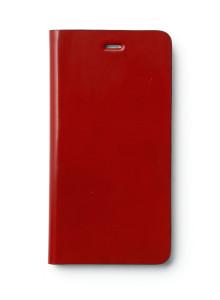 제누스 아이폰8 플러스 루나 가죽케이스 레드