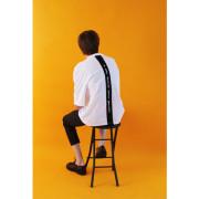 [코케트스튜디오]Slogan Back Point 1/2 T-Shirt - White