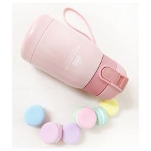 원터치 보냉 텀블러 핑크