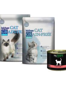 이즈칸 캣 키튼,어덜트 6.5kgx2봉 고양이사료