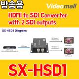 HSD1 - HDMI to SDI Converter with 2 SDI outputs