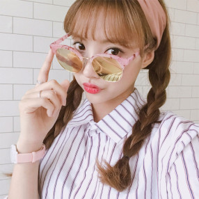남녀공용 패션 미러 선글라스