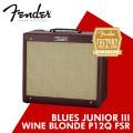 [정품/공식] FENDER BLUES JUNIOR III WINE BLONDE P12Q FSR / 펜더 블루스 주니어 3 리미티드 / 진공관 앰프 / 부산 삼광악기