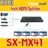 SX-MX41 -4x4 HDMI Splitter, HDMI 매트릭스