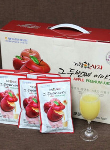 애플캣's 부모님이 직접재배한 친환경 사과즙 120ml 50팩 1박스
