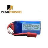 PEAKPOWER 2S 7.4V 400mAh 30C lipo battery 초경량 25g