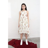 더센토르 SLEEVELESS LONG DRESS - IVORY