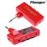 Flanger F-1 Red 헤드폰 앰프 Heavy Rock USB 기타앰프