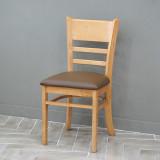 에그스타 캐러비안 원목 식탁 카페 의자