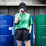 [품절] 새틴 트레이닝 3부 반바지 밴딩 팬츠 블랙
