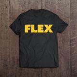플렉스 로고 티셔츠