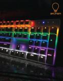 국민 기계식 키보드 도전, archon AK47 Rainbow VIKI 청축/갈축/적축 LED 기계식 키보드 배틀그라운드