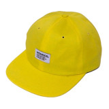 MONKIDS Color Stripe 6P Cap (Yellow Stripe)