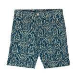 MONKIDS Summer Shorts Green Damask (Green)