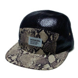MONKIDS Snake 5Panel Cap (Black White)