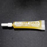 고음질 이어폰/헤드폰의 필수품! 음질개선, 음질향상, 잡음제거. Caig DeoxIT Gold Tube(디옥스잇 골드) 접점개선제