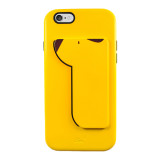 iPUP iphone6 case&card holder_Yellow