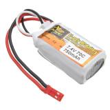 Zop Power 7.4V 750mAh 70C 고용량 고방전 2S 배터리