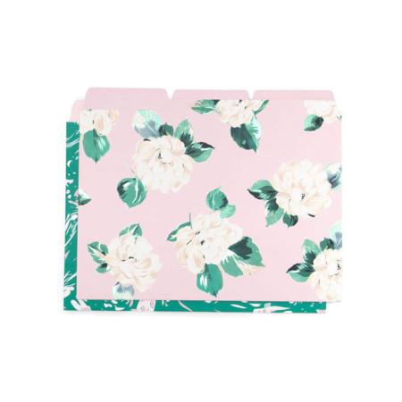 [밴도]파일폴더세트-마블/꽃무늬 (Bando)Get it sorted file folder set, marble/lady of leisure