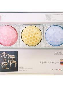 새라새 천연 비누 3P 선물 세트 SERASE FACE BODY SOAP 3P GIFT SET