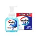 [Walch] 포밍 항균 핸드워시 300ml (Aqua)  + 웨스 아쿠아 건강 비누 3개입