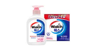 [Walch] 웨스 항균 핸드워시 250ml (Moisturizing) +웨스 건강 비누 (Moisturizing) 3개입