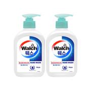 [Walch] 웨스 항균 핸드워시 250ml (Aqua) 2개