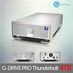▶특가 16대 한정판매◀ G-Technology  G-DRIVE PRO Thunderbolt 4TB 외장하드