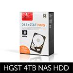 ▶HGST공식유통사/당일출고/3년보증◀ 4TB Deskstar NAS HDN726040ALE614 패키지 (SATA3/7200/128M)