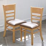 에그스타 캐러비안 식탁의자 카페 원목 1 플러스 1 (한개더)