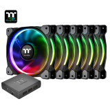 써멀테이크 Riing Plus 12 RGB Fan TT Premium Edition(5pack) 아스크텍