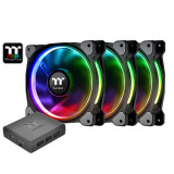 써멀테이크 Riing Plus 12 RGB Fan TT Premium Edition(3pack) 아스크텍