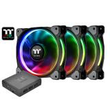 써멀테이크 Riing Plus 12 RGB Fan TT Premium Edition(3pack) 아스크텍