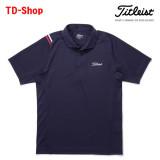 타이틀리스트 발수 라인 투어셔츠 골프웨어 남성 골프티셔츠 남자 골프의류 TWMC1700 티디샵