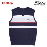 타이틀리스트 골프웨어 멀티보더 베스트 남성 골프웨어 남자 골프의류 TSMK1765 티디샵