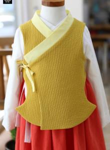 당의형조끼패턴 90~140 성인인사이즈 (S,L) 옷만들기 패턴&설명서
