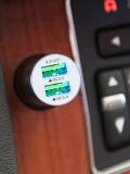 주파집 퀵차지3.0 듀얼 차량용 충전기