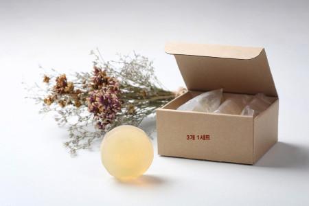[본사직영][노니비누3개]노니비누벌크SET(3개입) 100%로얄통가노니 순수노니주스원액함유