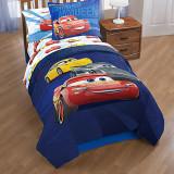 디즈니 정품 카3 캐릭터 이불 트윈 Cars 3 Comforter - Twin