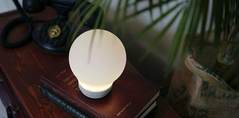 디붐 오라벌브 LED 무드등 수면등 조명 블루투스 스피커